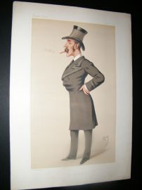 Vanity Fair Print 1878 Owen Lewis Cope Williams, Military